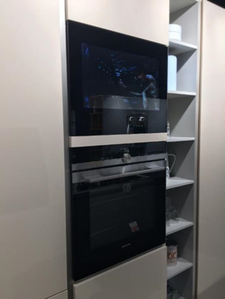 Exposition AVS220K cabinet door kitchen tv AVEL KitchenElectronics