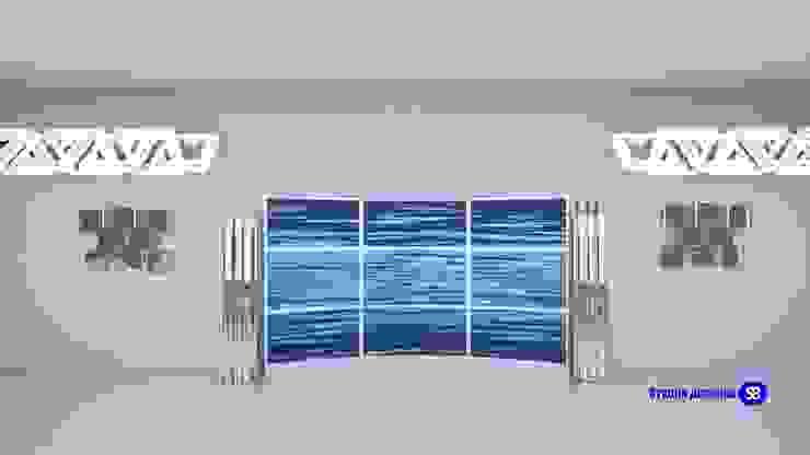 Hi-Tech living room Modern Living Room by 'Design studio S-8' Modern