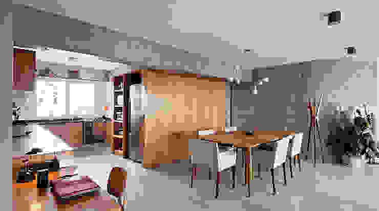 Sala de Jantar e Copa Salas de jantar modernas por ODVO Arquitetura e Urbanismo Moderno Concreto