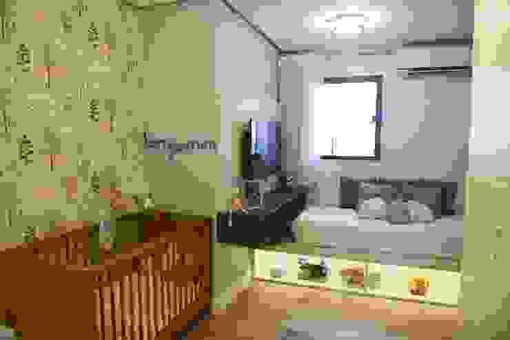 Quarto de bebê Lorena Porto - Arquitetura e Interiores Quartos de bebê