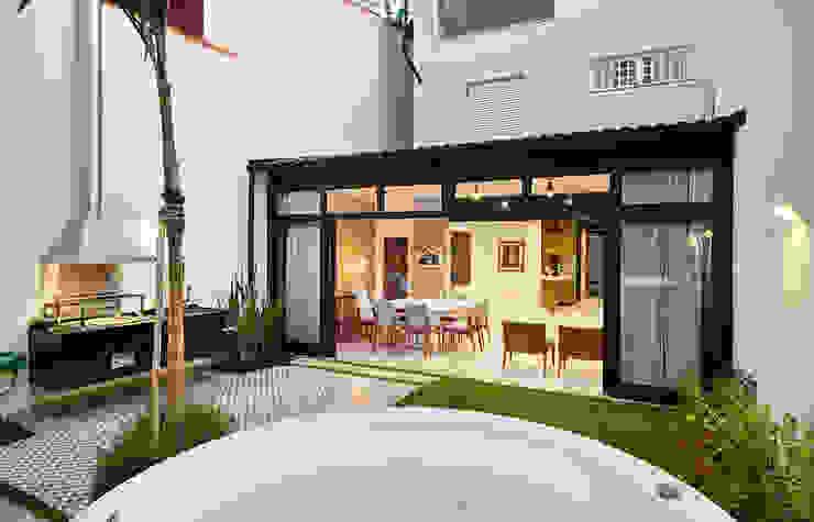 Zen garden by ODVO Arquitetura e Urbanismo, Modern
