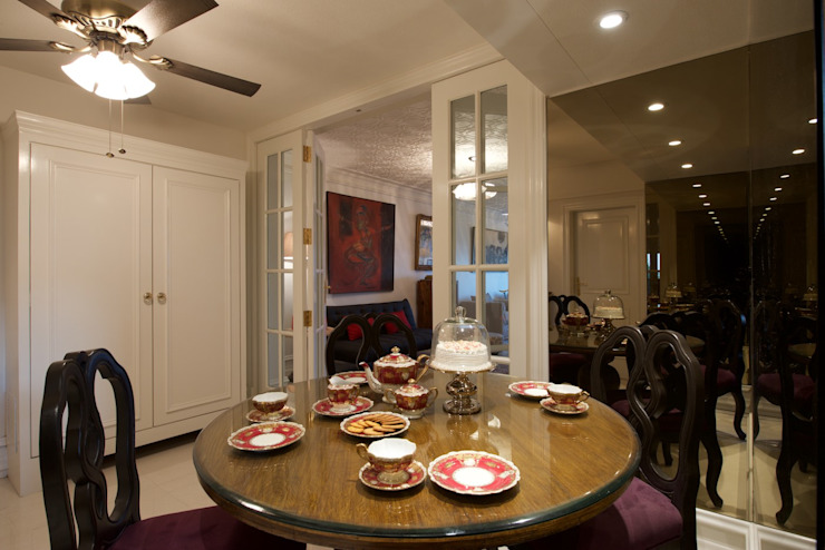 Premium home interior designs Asian style dining room by Bric Design Group Asian