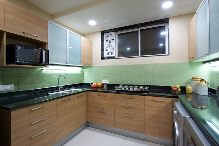 Premium home interior designs Asian style kitchen by Bric Design Group Asian
