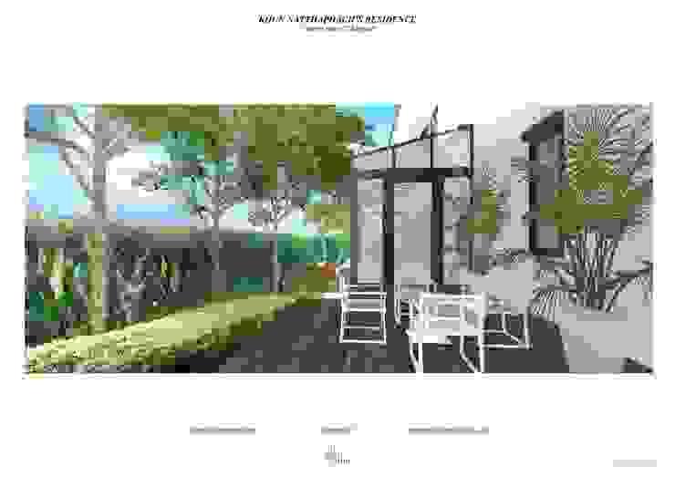 Landscape Design for Narasiri Rama 2 โดย Thaan Studio