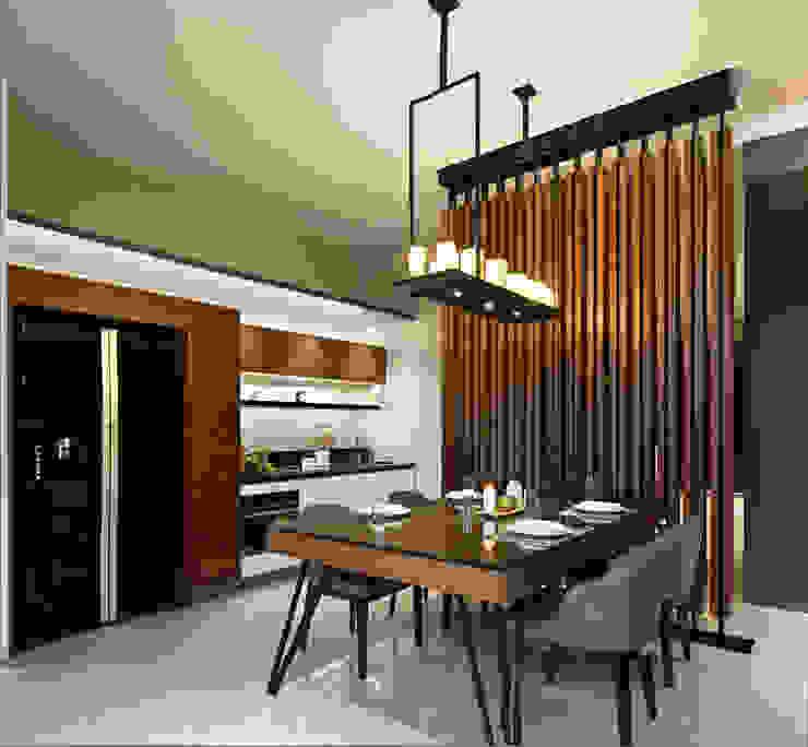 Dining Room Ruang Makan Modern Oleh INERRE Interior Modern