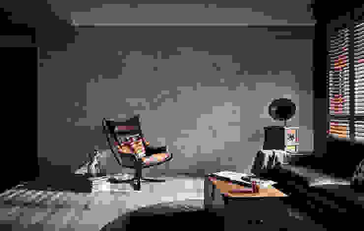 Living room by 羽筑空間設計, Industrial