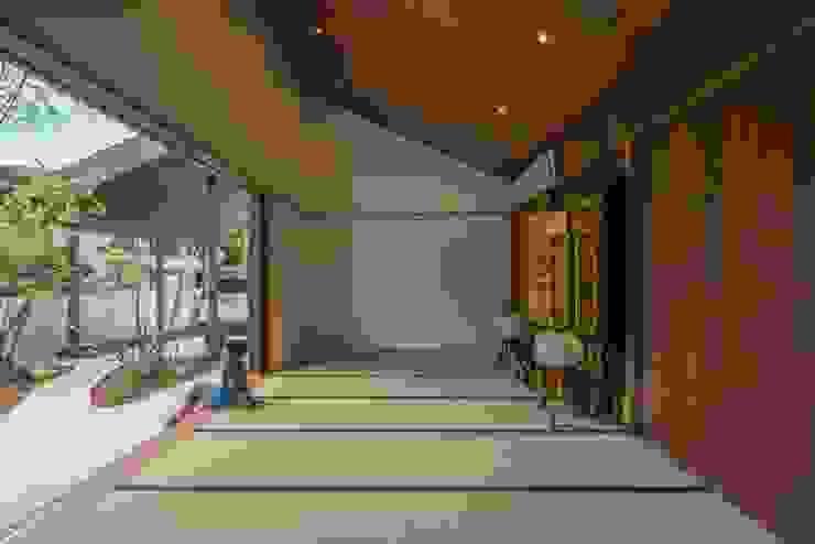和室 モダンデザインの 多目的室 の 武藤圭太郎建築設計事務所 モダン
