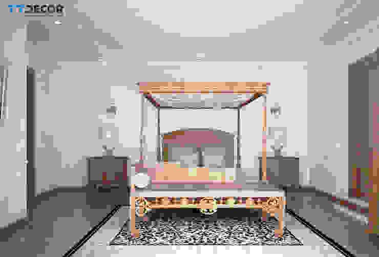 Căn hộ Penthouse Masteri Thảo Điền Quận 2: scandinavian  by TTDECOR, Bắc Âu