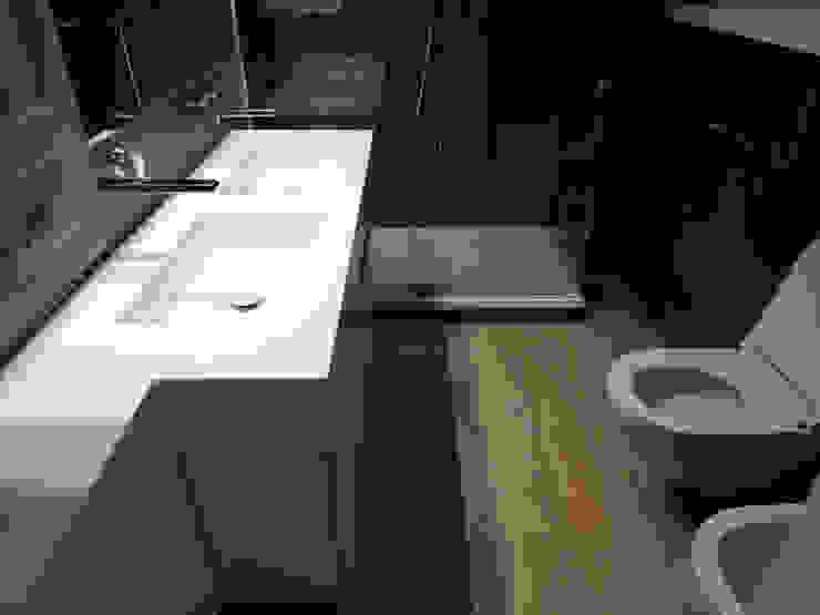 Nowoczesna łazienka od ginardi arredamenti srl Nowoczesny