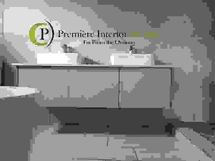HOUSE MANKGANE Modern bathroom by Première Interior Designs Modern