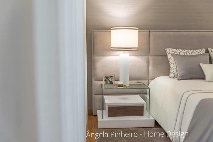 Ângela Pinheiro Home Design Eclectic style bedroom
