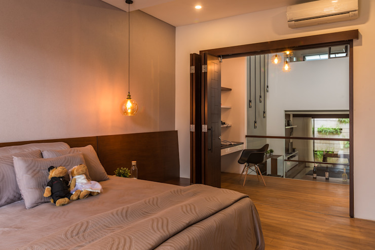 Budisari Residence Kamar Tidur Tropis Oleh ARCHID Tropis