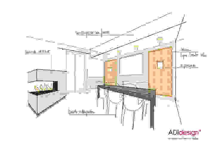 modern  by ADIdesign*  studio, Modern