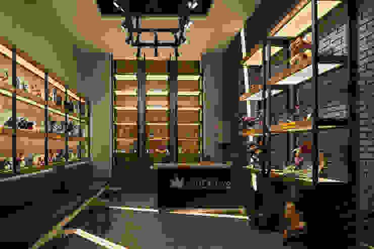 Live 4 Toys Kantor & Toko Gaya Industrial Oleh ARCHID Industrial