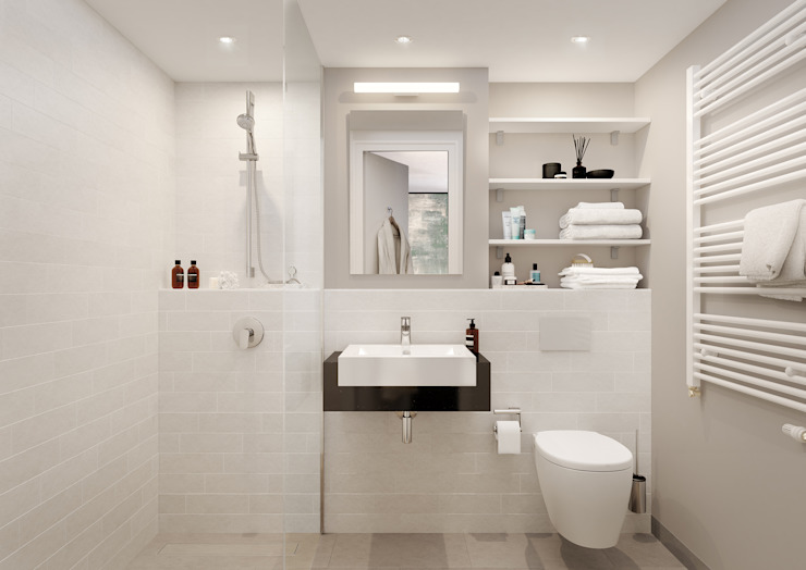 حمام تنفيذ JLL Residential Development , تبسيطي