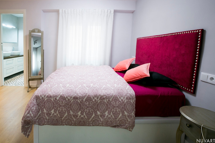 NUVART Eclectic style bedroom