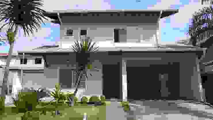 Ambiento Arquitetura Single family home Concrete Beige