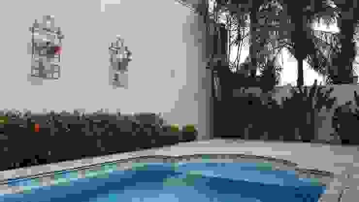 Ambiento Arquitetura Garden Pool Stone Beige