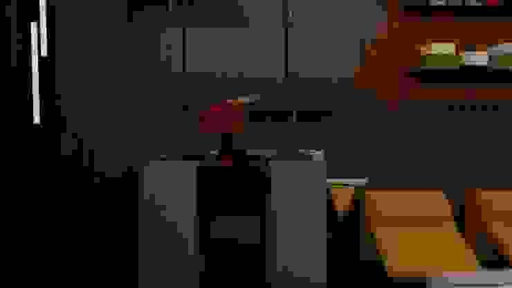 Pia Deca Modern Bathroom by STUDIO SPECIALE - ARQUITETURA & INTERIORES Modern Wood Wood effect