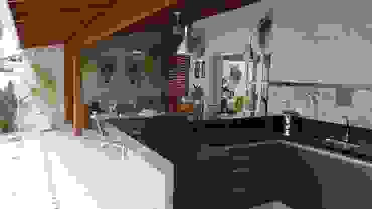 Ambiento Arquitetura Rustic style living room Wood Beige