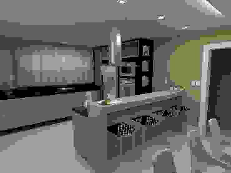Projeto Cozinha Bruna Schumacher - Arquitetura & Interiores Cozinhas clássicas