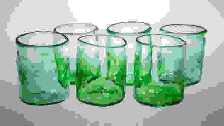 Xaquixe Dining roomCrockery & glassware Glass Green
