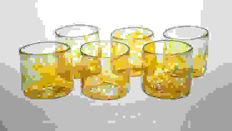 Xaquixe Dining roomCrockery & glassware Glass Yellow
