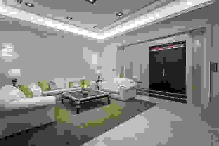 客廳 根據 澤序空間設計有限公司 古典風