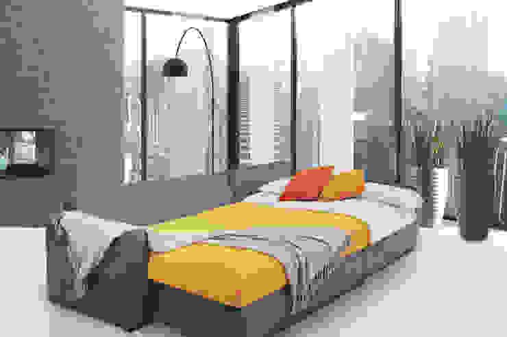 BELICE dark grey de SOFAMEX Tienda en línea Moderno Textil Ámbar/Dorado