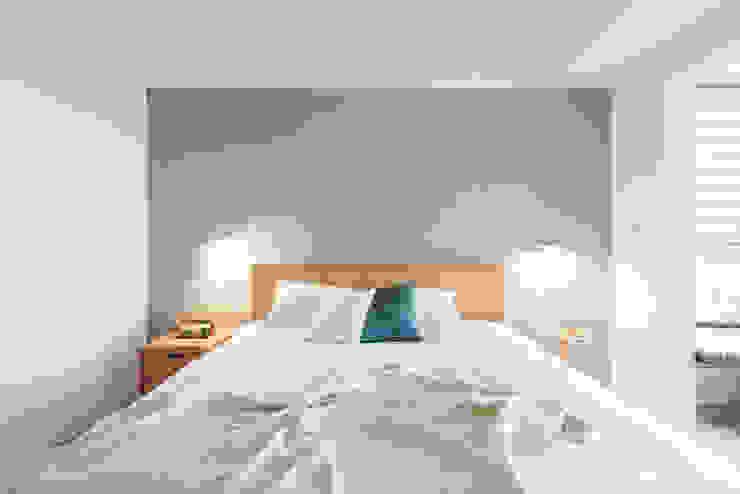 Scandinavische slaapkamers van 寓子設計 Scandinavisch