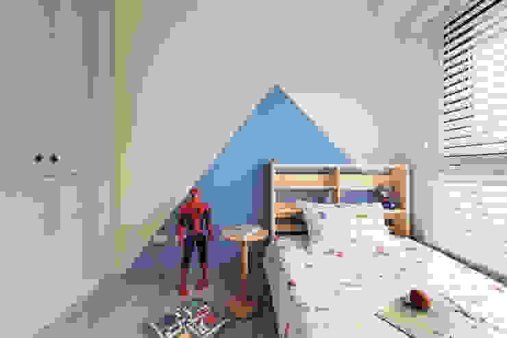 Skandinavische Schlafzimmer von 寓子設計 Skandinavisch