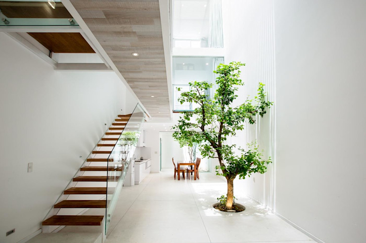 Nhà Phố – Đà Nẵng Hành lang, sảnh & cầu thang phong cách hiện đại bởi Công ty trách nhiệm hữu hạn ANP Hiện đại