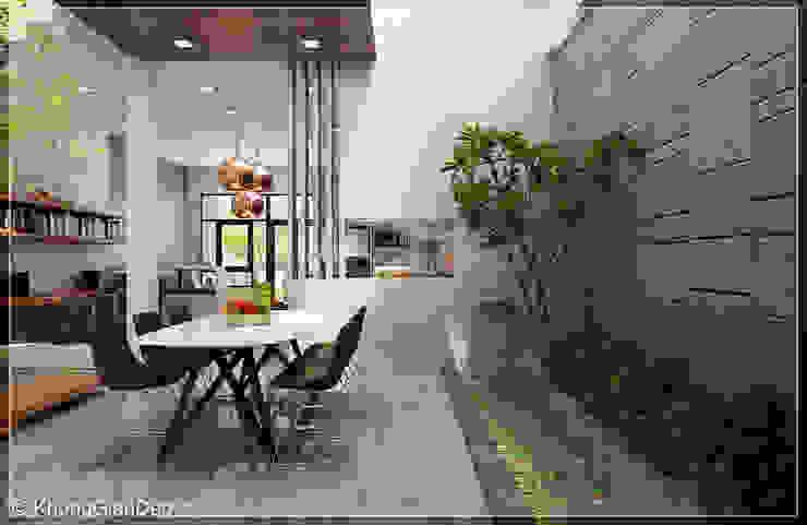 Comedores de estilo moderno de Công ty cổ phần đầu tư xây dựng Không Gian Đẹp Moderno