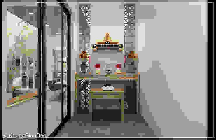 Phòng thờ Phòng học/văn phòng phong cách hiện đại bởi Công ty cổ phần đầu tư xây dựng Không Gian Đẹp Hiện đại