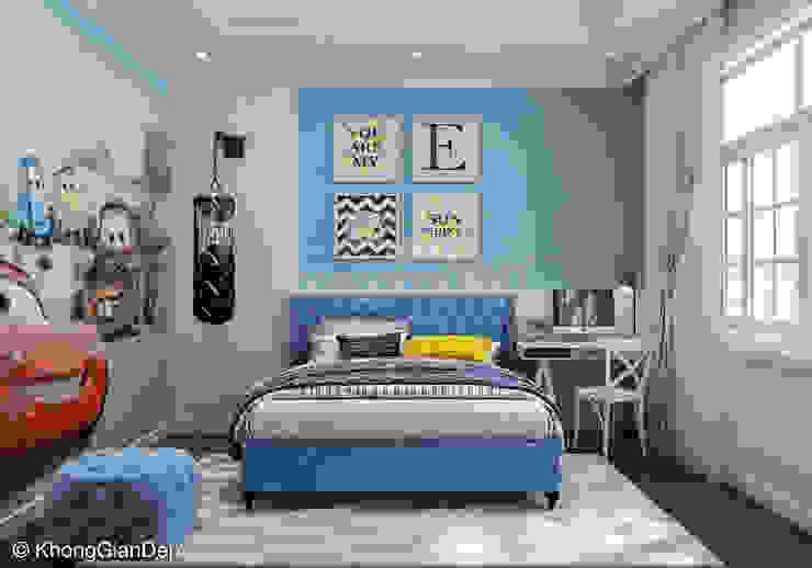 Phòng ngủ Phòng ngủ phong cách kinh điển bởi Công ty cổ phần đầu tư xây dựng Không Gian Đẹp Kinh điển