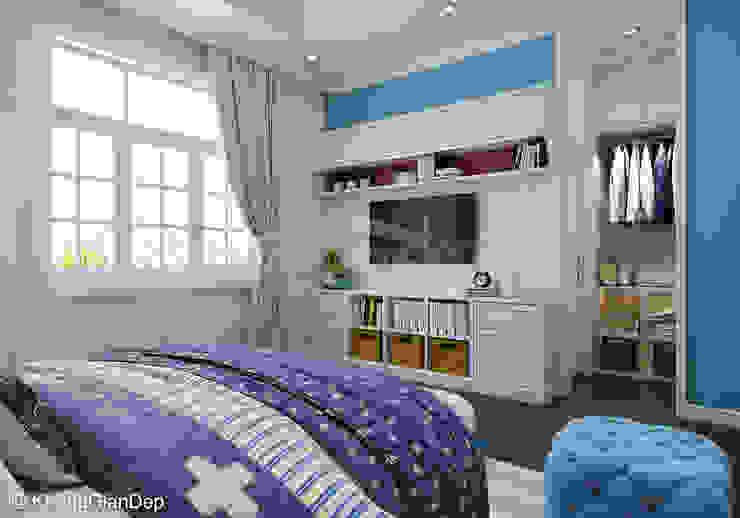 Classic style bedroom by Công ty cổ phần đầu tư xây dựng Không Gian Đẹp Classic