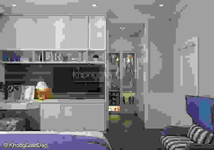 Scandinavian style bedroom by Công ty cổ phần đầu tư xây dựng Không Gian Đẹp Scandinavian