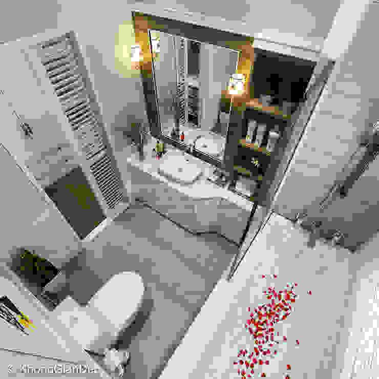 WC Phòng tắm phong cách kinh điển bởi Công ty cổ phần đầu tư xây dựng Không Gian Đẹp Kinh điển