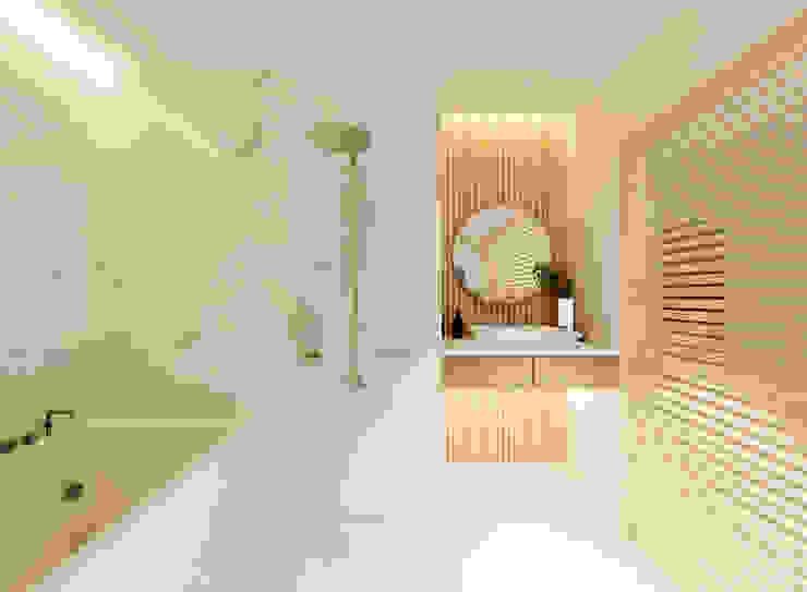 Căn hộ Mulberry Lane Phòng tắm phong cách hiện đại bởi Công ty trách nhiệm hữu hạn ANP Hiện đại