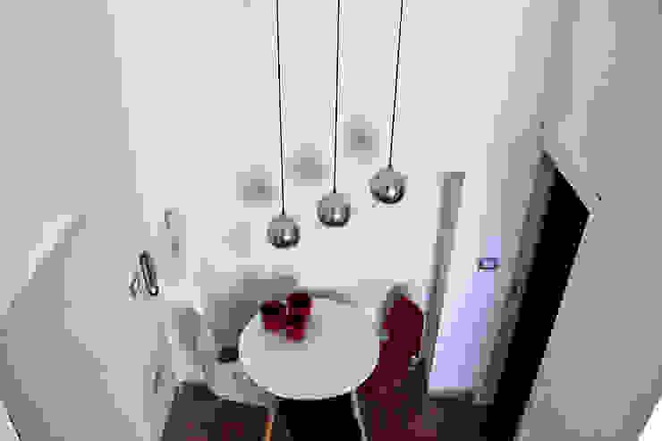 Open Space Sala da pranzo moderna di Architetto Luigia Pace Moderno Laterizio