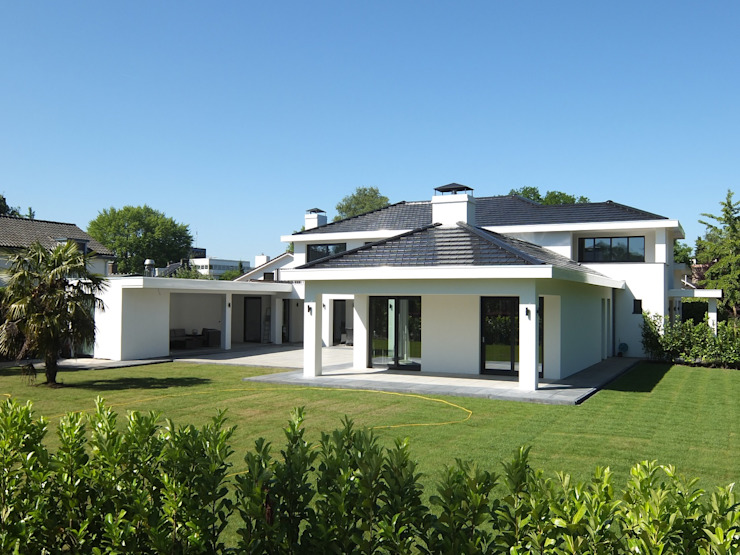 Villa Miami van Archivolt Architectuur Studio Modern Beton