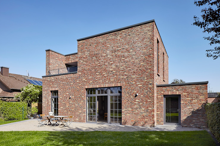 Klinkerhaus In Zeitgemassem Design