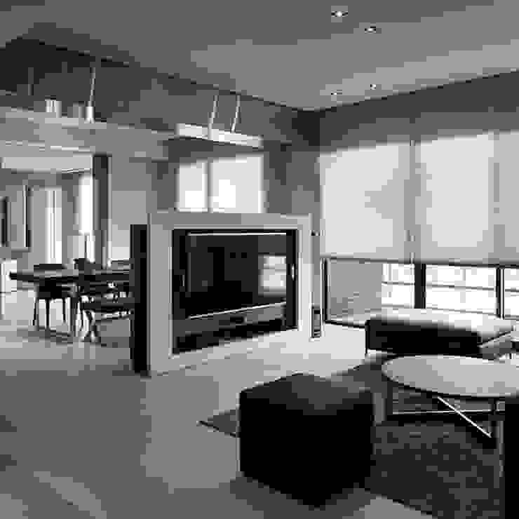 5 mẹo trang trí không gian nhà bạn chỉ với màu đen: tối giản  by Quynh Ngoc Nguyen, Tối giản Đồng / Đồng / Đồng thau