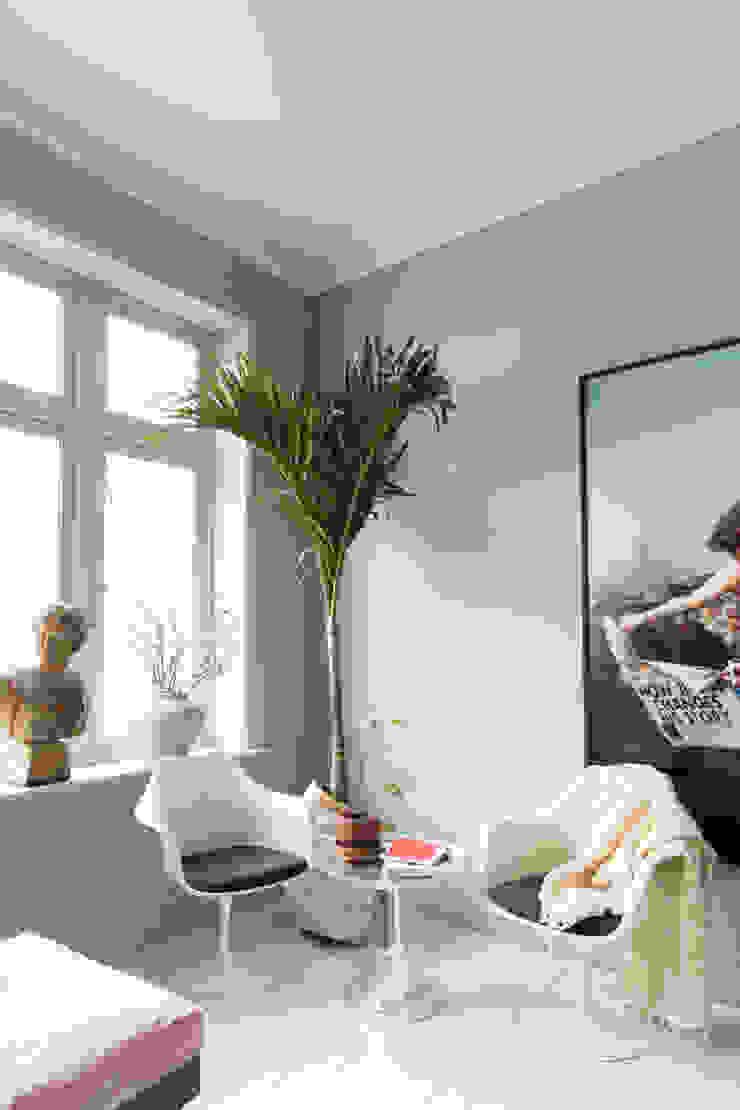 Keuken in Classico krijtverf Polar Blue Moderne keukens van Pure & Original Modern