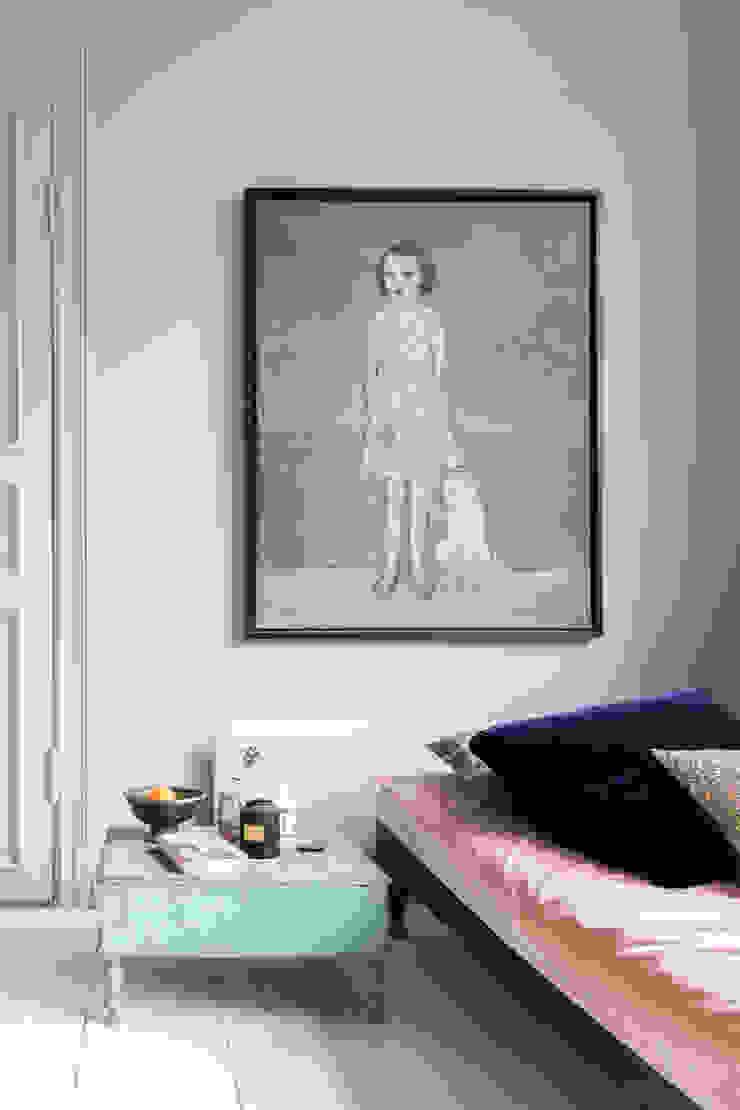 Mooi kleur combinatie van verschillende tinten blauw met roze Moderne keukens van Pure & Original Modern