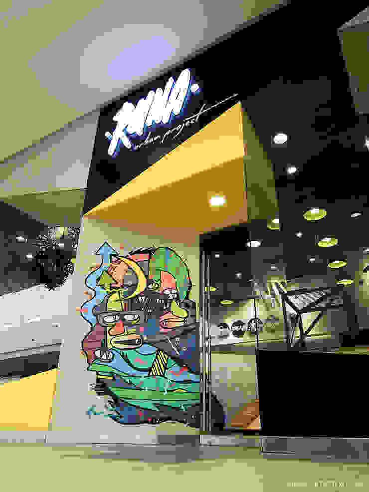 Tienda RUNA de SXL ARQUITECTOS Industrial