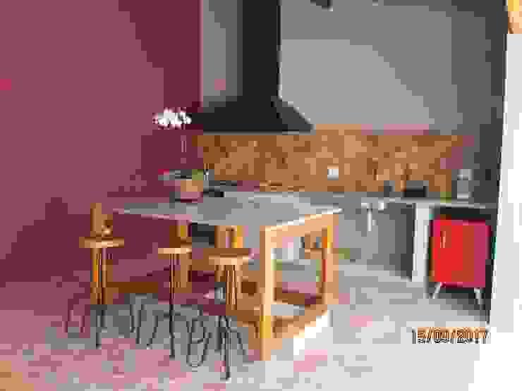 ห้องครัว โดย Lozí - Projeto e Obra, โมเดิร์น