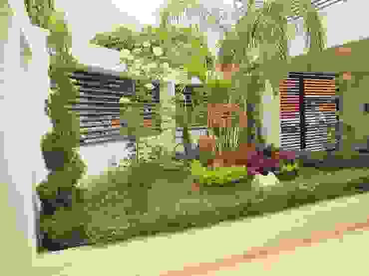 Modern Garden by ÖQ Arquitectos Modern