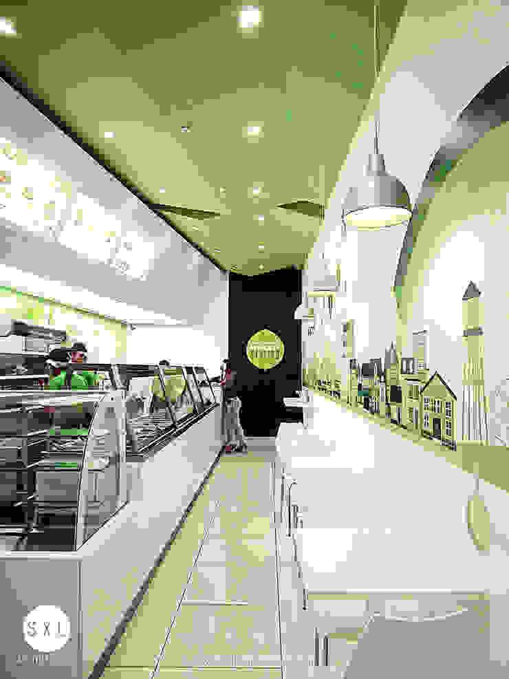 Modern gastronomy by SXL ARQUITECTOS Modern
