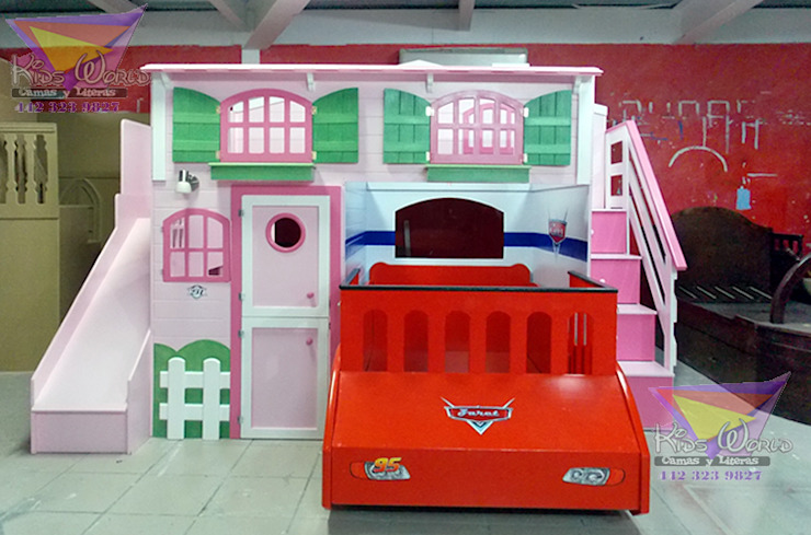 Recamaras para princesas de camas y literas infantiles kids world Clásico Derivados de madera Transparente